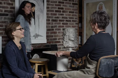 Blind People Describe Loved Ones To A Sculptor