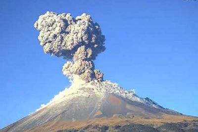 WATCH: Volcano Popocatepetl In Mexico Errupts Once Again