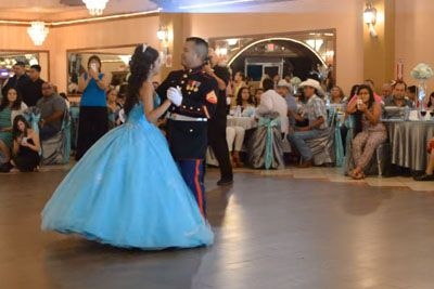 Marine Dances With Daughter On Her Birthday. Watch Their Skills When The Music Changes!