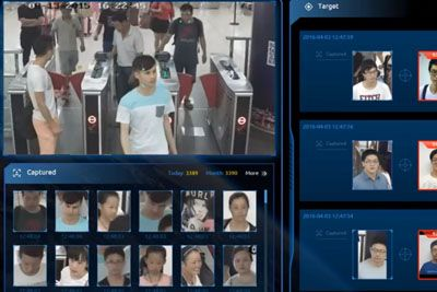 Chinese Street Surveillance With Face Recognition Is Kind Of Creepy