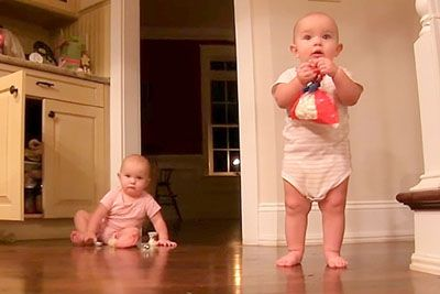 Twins Steal A Bag Of Marshmallows From The Cabinet. Their Next Move Is Going Viral
