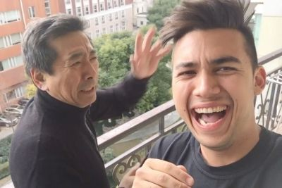 Son Pranks His Dad In China, Footage Will Make Your Day