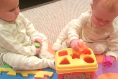 Daddy Buys Twins New Toy. Has Internet Laughing At Their Next Move
