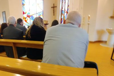 Man In Church Had More Important Things To Do Than Listening To A Priest