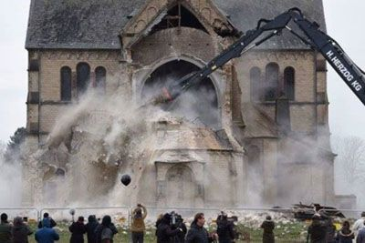 19th-Century German Church Is Demolished To Make Way For Coal Mining