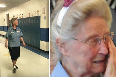 77-Year-Old Janitor Has Secret. Staff Uncovers Truth And Surprises Her In Best Way!