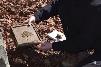 Man Finds A Treasure In The Woods. When He Opens The Box, His GF Almost Faints!