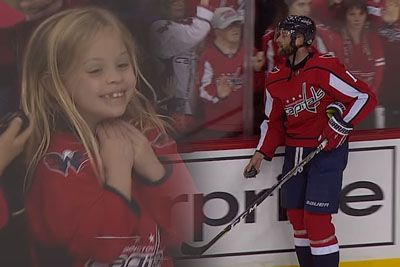This Little Girl Will Melt Your Heart With Emotions At An NHL Game