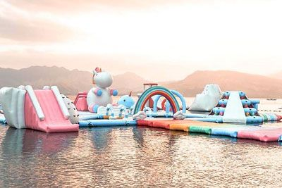 Would You Visit This World's First Unicorn Island At Inflatable Island?