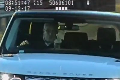 Driver With A Laser Jammer In His Car Flips Off Police Camera, Gets Arrested