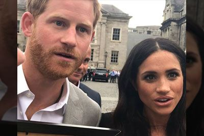 Harry And Meghan Were Left Flabbergasted by Teenager's Hand Drawing Of Them