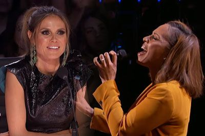 Singer Glennis Grace Performs Prince's Song, Brings Judges On Their Feet
