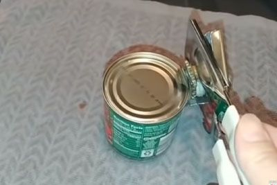 You Have Been Using The Can Opener Wrong All The Time, This Is The Proper Way