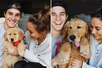 Couple Captures One Second A Day To Show Their Puppy Growing Up Through Time