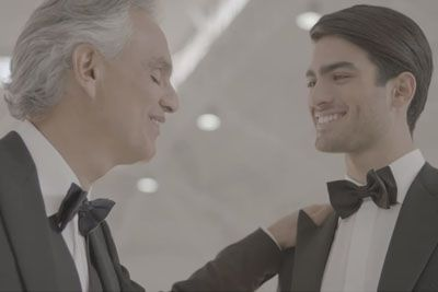 Just Released Andrea Bocelli Haunting Duet With Son Is Bringing Everyone To Tears