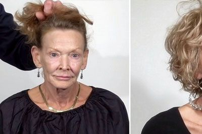 69-Year-Old Tired Of Her Worn Out Look Gets Makeover Taking 20 Years Off Her Age