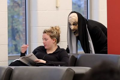 The Nun Scare Prank At School Is Really Hillarious To Watch