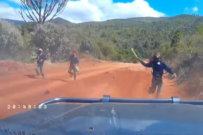 American Couple Nearly Escapes From Machete Bandits While Driving In Kenya