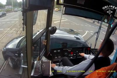It's Not Easy To Be A Tram Driver And This Video Shows Us Why