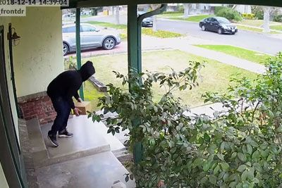 Homeowner Sick Of His Packages Being Stolen Decides For Sweet Revenge