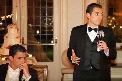 Groom Asks Little Brother For Speech Not Knowing He'd Unveil Confession Forcing All To Weep
