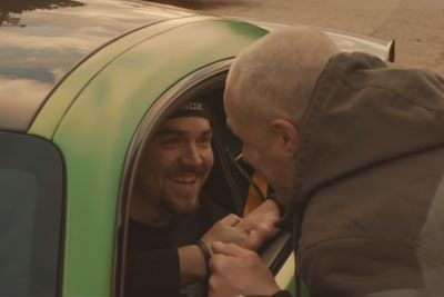 Blind Father Gets His Dreams Fulfilled, Drives Car For The First Time In His Life