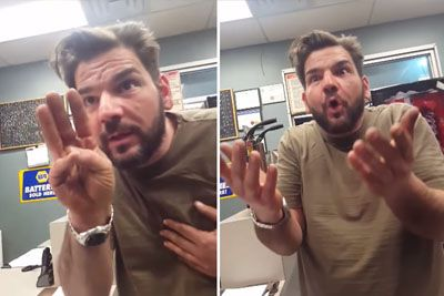 Husband Finds Out He's Having Triplets, His Hilarious Reaction Is Priceless