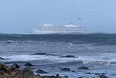 Shocking Footage Aboard Viking Sky Cruise Ship As It Battles Dangerous Waves