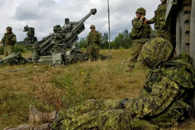 Canadian Soldiers Play An Extremely Rude Prank On A Sleeping Gunner