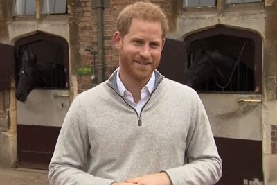 Prince Harry Makes First Statement To The Press After The Birth Of His Baby Boy