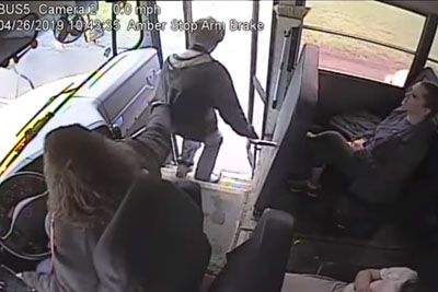 Female Bus Driver Acts Quickly To Save Kid's Life