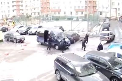 Camera Captures Hilarious Moment With Russian Special Forces In Action