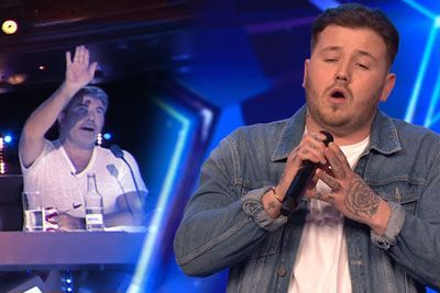Jacob Jones Gets Stopped By Simon Cowell, Then Brings BGT Audience To Tears