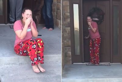 Parents Surprise Daughter With Dog She Had Been Caring For At Shelter