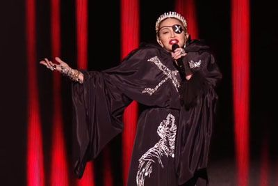 Madonna Autotuned Her Eurovision Performance,