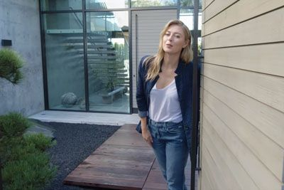 Maria Sharapova Shows Us The Interior Of Her House With A Basement Bowling Alley