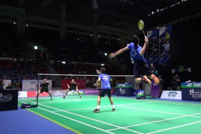 This Awesome Badminton Player Has A Cannon For An Arm