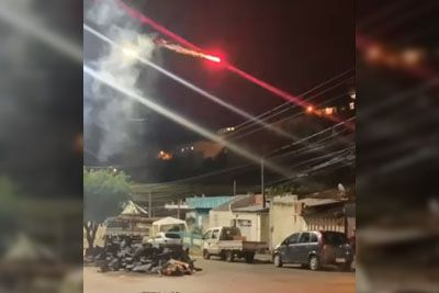 Man Uses A Drone Armed With Fireworks To Break Up A Loud Street Party