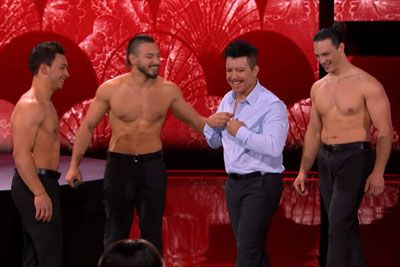 Watch As The Messoudi Brothers Bring Their Retired Father On AGT Stage
