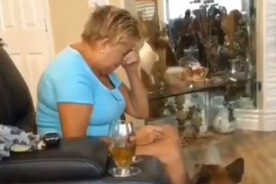 Grandmother Gets Wrecked After Accidentally Eating Grandson's Marijuana Cookies