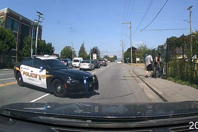 Police Pursuit In Canada Ends With Bunch Of Drama, Irony And Crashes