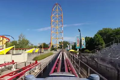 Top Thrill Dragster At Cedar Point Is Fastest Rollercoaster In The World