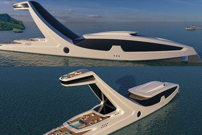Shaddai Superyacht For 344 Million Dollars Has Infinity Pool 125 Ft Above Sea Level