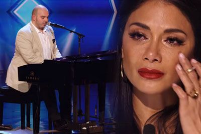 Blind Paul Brings Judges To Tears, Gets Golden Buzzer On Australia's Got Talent