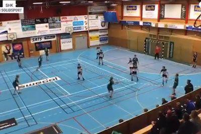 Drunk Driver Crashes Into A Hall During Handball Match