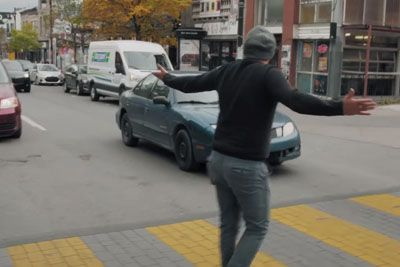 Canadian Drivers Get An Epic Lesson For Not Stopping At The Crosswalks