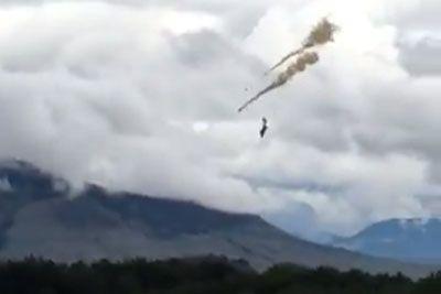 Video Of Canadian Forces Snowbirds Crash In Kamloops