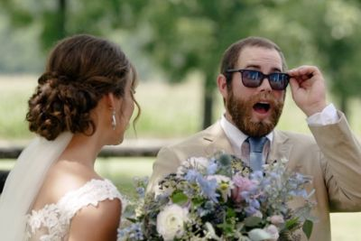 Bride Surprises Groom With EnChroma Colorblind Glasses