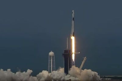 SpaceX Makes History With First-Ever NASA Astronauts Rocket Launch