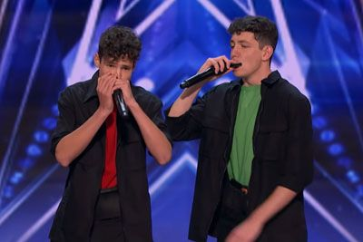 Brothers Gage Surprise The Judges With Harmonica Performance On AGT 2020